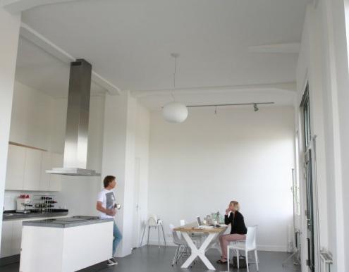 Een slechte akoestiek in een appartement in Zaandam. Daar hebben wij de oplossing voor!